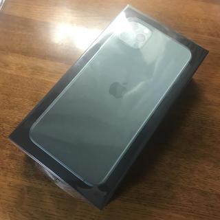 iPhone - 新品未開封 iPhone 11 Pro MAX 512GB ミッドナイトグリーン