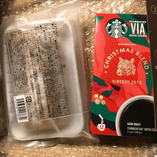 Starbucks Coffee - スターバックス シュトーレン &VIA