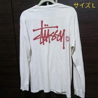STUSSY - stussy ロンT/長袖シャツ サイズL