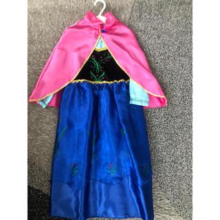 アナトユキノジョオウ(アナと雪の女王)のアナ雪 アナの変身ドレス美品(衣装)