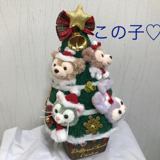 ダッフィー - この子♡新作♡ダッフィー  フレンズ クリスマスツリー ツリー