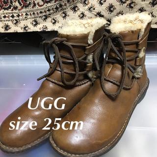 アグ(UGG)のレア希少モデル!UGGアグオーストラリアモカシンブーツ25cm (ブーツ)