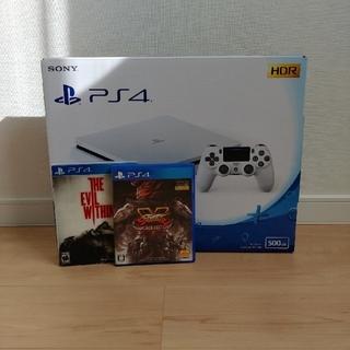 PlayStation4 - プレイステーション4本体+ソフト2枚セット
