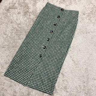 ZARA - ZARA ツイードタイトスカート