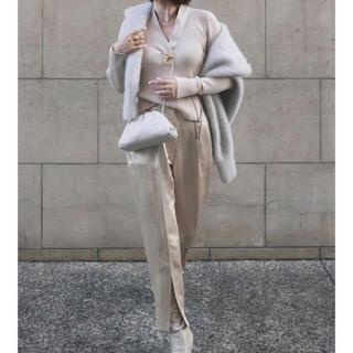 Stella McCartney - 本革 バターカーフザポーチ タイプ オフホワイト small  即発送