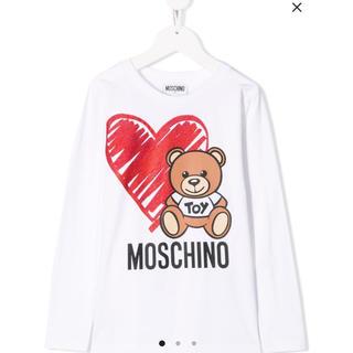 MOSCHINO - 【新品】MOSCHINO KIDS テディベア トップス 12A