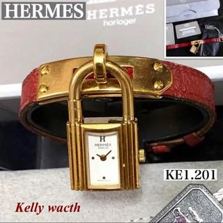 Hermes - HERMES/エルメスレディース腕時計ケリーウォッチKE1.021ホワイト文字盤