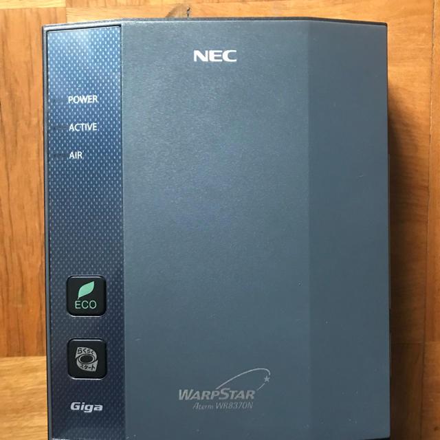 NEC(エヌイーシー)の【中古】NEC Wi-Fi WARPSTAR スマホ/家電/カメラのPC/タブレット(PC周辺機器)の商品写真