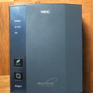 エヌイーシー(NEC)の【中古】NEC Wi-Fi WARPSTAR(PC周辺機器)