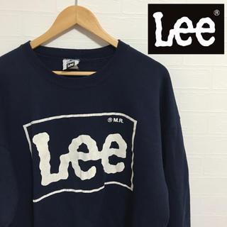 Lee - 【Lee】ヴィンテージ  ビックロゴ トレーナー