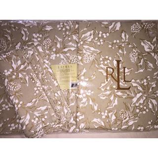 ラルフローレン(Ralph Lauren)の未使用 円形178センチ ラルフローレンテーブルクロス、マット、ナプキンセット(テーブル用品)