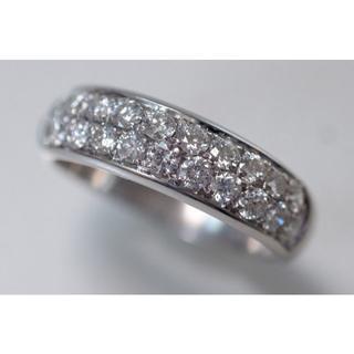 750 ピキョッティ ダイヤモンド 0.85ct パヴェ リング(リング(指輪))