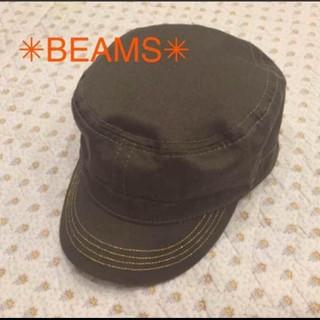 ビームス(BEAMS)の☆断捨離SALE☆ BEAMS メンズ キャスケット カーキ(キャスケット)