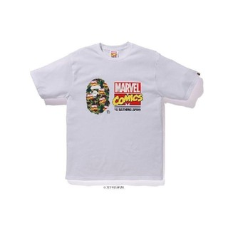 A BATHING APE - A bathing ape Marvel Bape Camo Tee XL