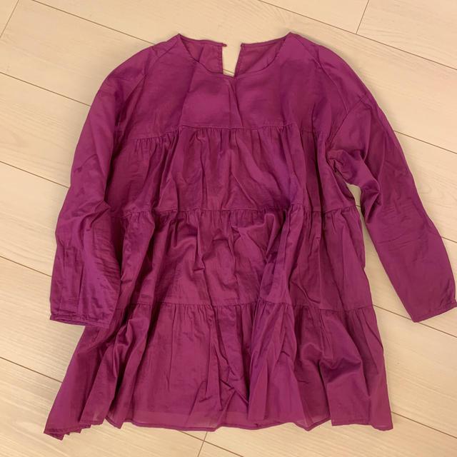 GU(ジーユー)のGU/フレアブラウス レディースのトップス(シャツ/ブラウス(半袖/袖なし))の商品写真