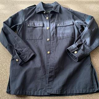 エディション(Edition)のエディション オーバーサイズブラックジャケット(ブルゾン)