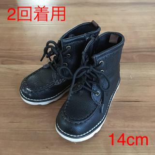 ベビーギャップ(babyGAP)のベビーギャップ ブーツ黒 14cm(ブーツ)