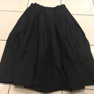 イエナスローブ(IENA SLOBE)のさや0725様専用★イエナスローブ  黒 ギャザースカート プリーツ(ロングスカート)