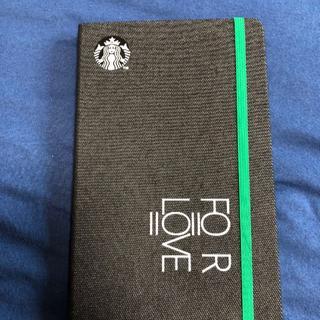 スターバックスコーヒー(Starbucks Coffee)のスターバックス 2020 手帳 ブラック 台湾限定(カレンダー/スケジュール)