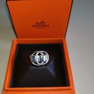 エルメス(Hermes)のHERMES エルメス ドゥザノーリング シルバー925  指輪 (リング(指輪))