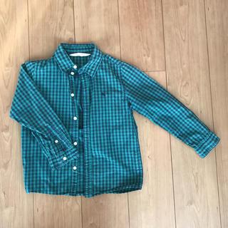 エイチアンドエム(H&M)のチェックシャツ H&M エイチアンドエム トップス 子供 キッズ 120(ブラウス)