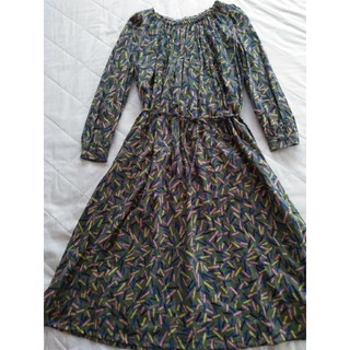 mina perhonen - ミナペルホネン light stick ドレス ワンピース