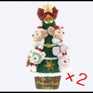 Disney - ディズニー ダッフィー クリスマスツリー クリスマス 2019 ×2