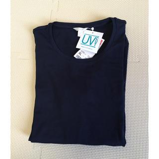 UNIQLO - クルーネックTシャツ 七分袖