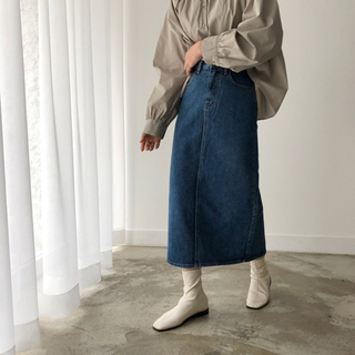 STYLENANDA - 韓国ファッション デニムロングスカート