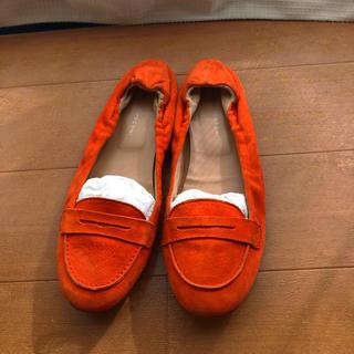 ファビオルスコーニ(FABIO RUSCONI)のファビオルスコーニ オレンジ色 ローファー(ローファー/革靴)