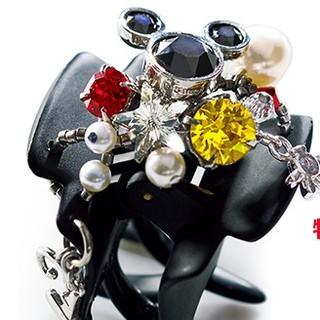 コンプレックスビズ(Complex Biz)の【♡新品♡】ミッキーマウスデザートクリップ(バレッタ/ヘアクリップ)