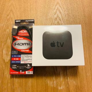 Apple - Apple TV & HDMIケーブル