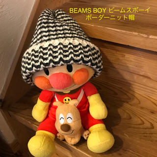 ビームスボーイ(BEAMS BOY)のビームスボーイ ニット帽 ボーダー(ニット帽/ビーニー)