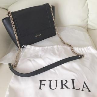 Furla - 美品フルラ チェーンショルダーバッグ