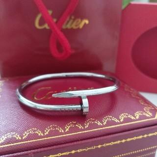 Cartier - 送料込み Cartier 釘デザイン バングル ファッション小物 レディース