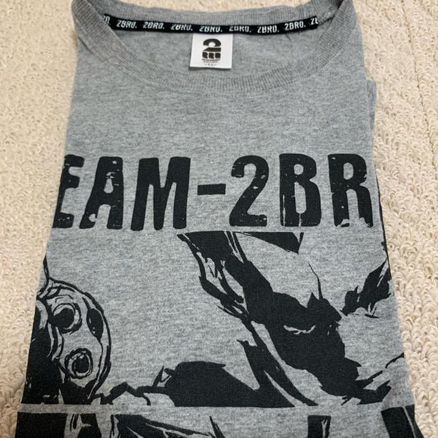 しまむら(シマムラ)の2BRO Tシャツ グレー メンズのトップス(Tシャツ/カットソー(半袖/袖なし))の商品写真