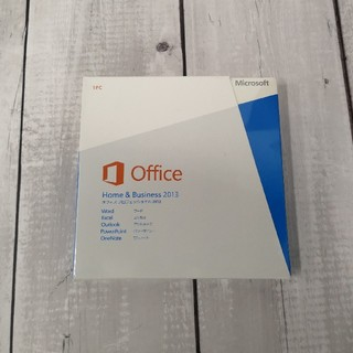マイクロソフト(Microsoft)のMicrosoft Office Home and Business 2013(その他)