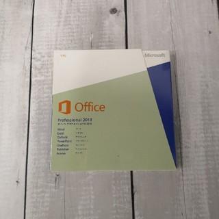 マイクロソフト(Microsoft)のMicrosoft Office professional 2013(その他)
