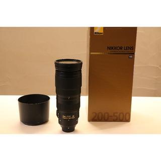 Nikon - AF-S NIKKOR 200-500mm f5.6 VR ED【おまけ付き】