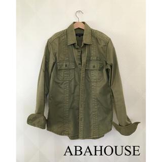 アバハウス(ABAHOUSE)のABAHOUSE アバハウス  ミリタリーシャツ ミリタリージャケット  カーキ(ミリタリージャケット)