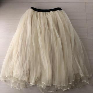 mysty woman - チュールスカート