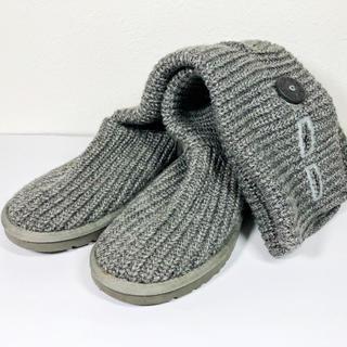 アグ(UGG)の美品【アグ  UGG】クラシックカーディ◆ニットブーツ24cm(ブーツ)