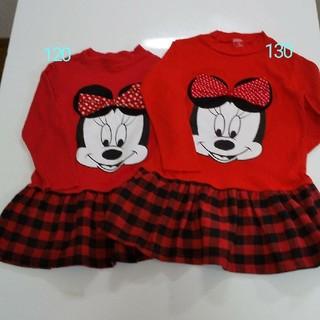 ディズニー 120 130 ミニー ミッキーマウス