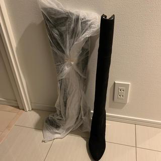 プールサイド(POOL SIDE)のニーハイブーツ 24cm(ブーツ)