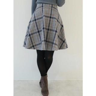 プロポーションボディドレッシング(PROPORTION BODY DRESSING)のプロポーションボディドレッシング♥︎ ビッグチェックフレアースカート(ひざ丈スカート)