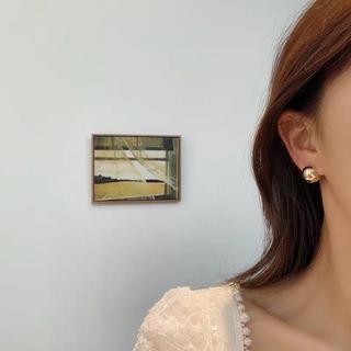 イエナスローブ(IENA SLOBE)の#620 import pierce : ballpierce gold(ピアス)