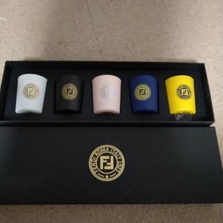フェンディ(FENDI)のFENDI 未発売キャンドルセット(キャンドル)