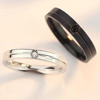 【指輪ケース付】 BS002 指輪 メンズ レディース リング  新品(リング(指輪))
