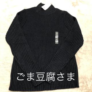 ユニクロ(UNIQLO)のUNIQLO リブ モックネックセーター2点(ニット/セーター)