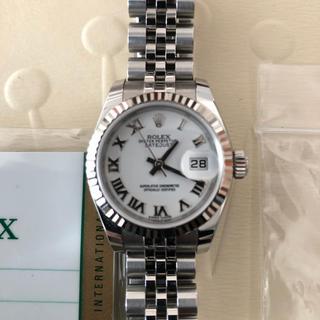 ロレックス(ROLEX)のロレックス 179174 超美品 K18 SS  レディース コマ有 付属品揃(腕時計)